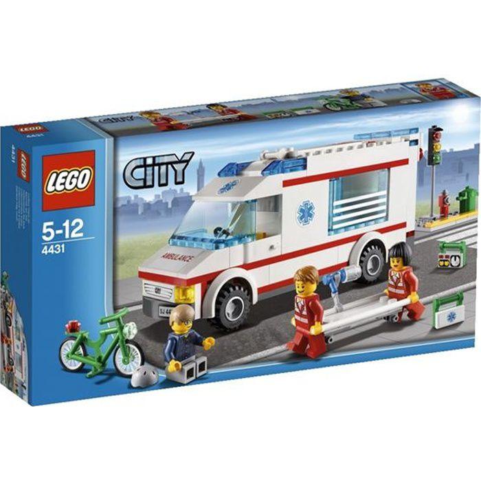LEGO City 4431 - L'Ambulance
