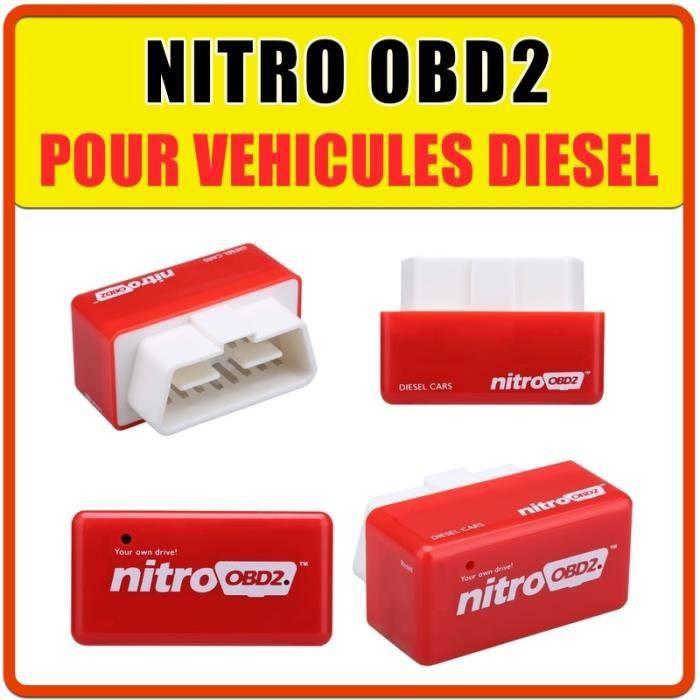 MODULE NITRO OBD2 pour véhicule DIESEL - Augmente la puissance
