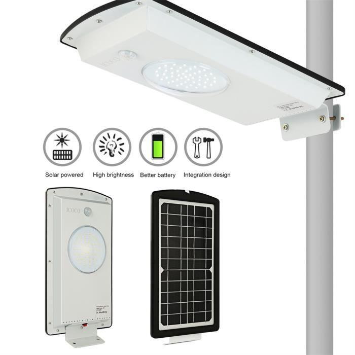 blanc chaud, paquet de 4 Lampe Solaire au Sol Wivarra 8 lumieres de chemin solaire LED eclairage exterieur impermeable a leau de jardin