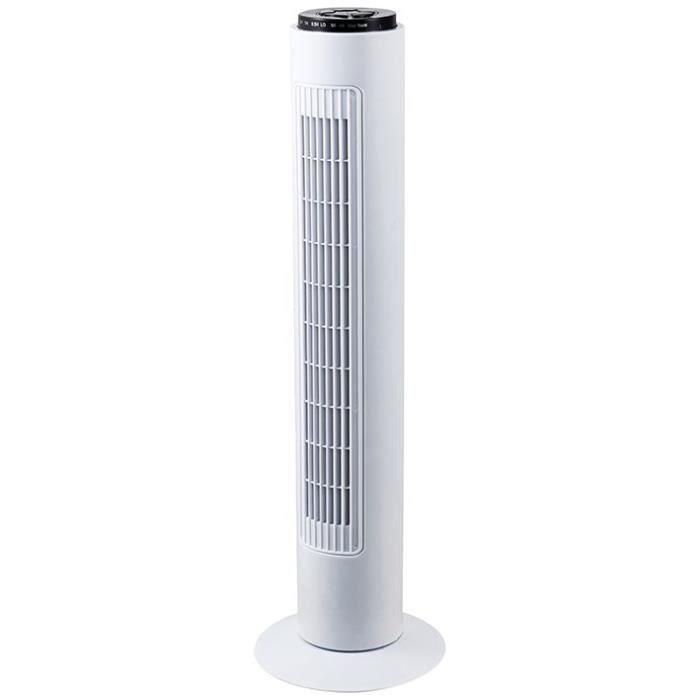 PROFILE Ventilateur tour 3 vitesses - 50 W - Blanc