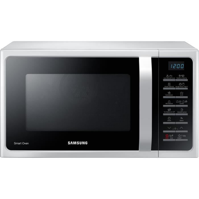 SAMSUNG - MC28H5015CW - Micro-ondes combiné 28l - Blanc