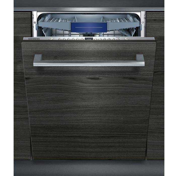 Siemens - Lave-Vaisselle 60Cm 14C 44Db A++ Tout Intégrable - Sx736X19Ne