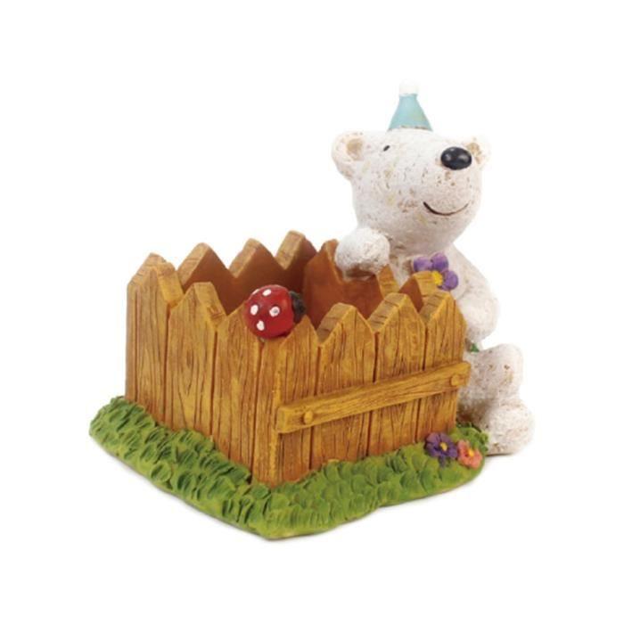 Dessin animé ours Pots de fleurs chambre d'enfants décor de bureau en pot de créatif décoration de la JARDINIERE - BAC A FLEUR
