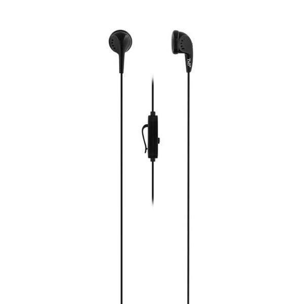 Ecouteurs FIRST avec micro, universel tous smartphones - MP3 Ecouteurs boutons avec aimant de 15mm pour une restitution sonore o...