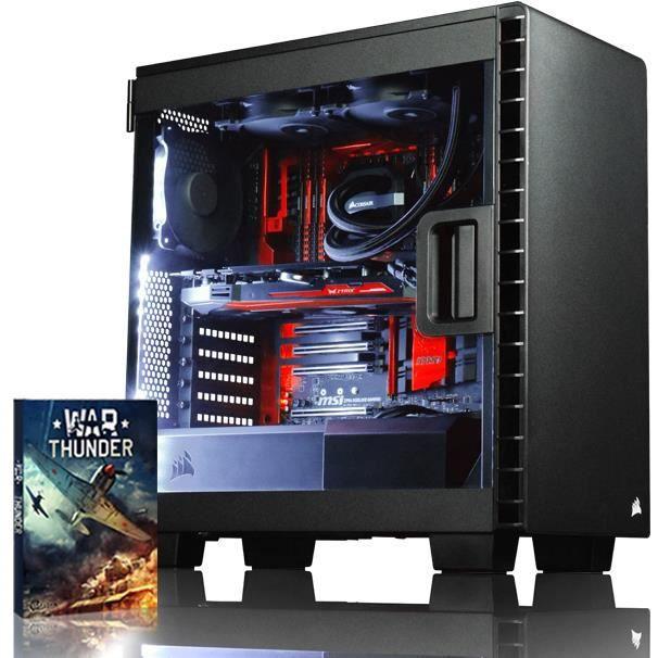 Vibox Species X Rxs770 167 Pc Gamer Ordinateur avec Jeu Bundle (4,5Ghz Intel i7 Extreme Quad Core Processeur , Asus Strix Radeon Rx