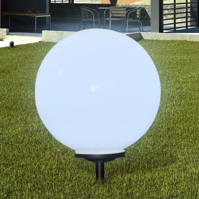 vidaXL Boule solaire extérieure 50cm 1 pièce
