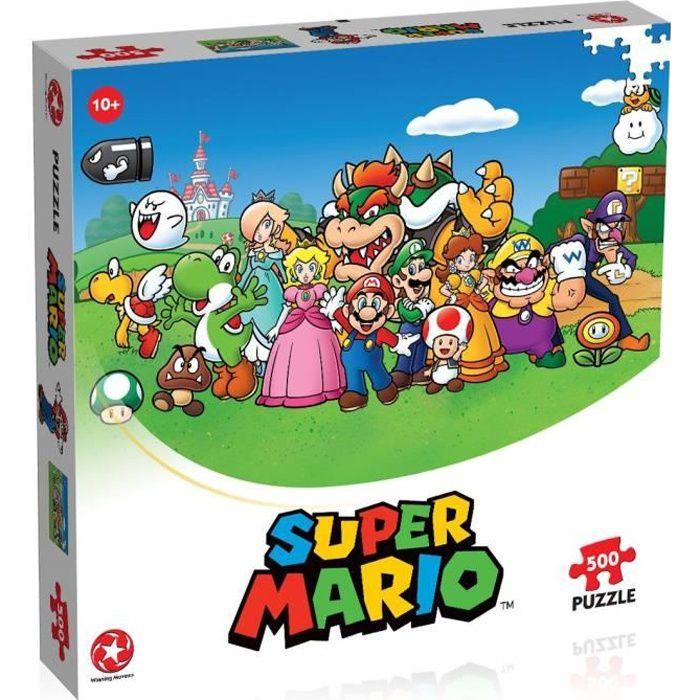 SUPER MARIO AND FRIENDS Puzzle 500 pièces
