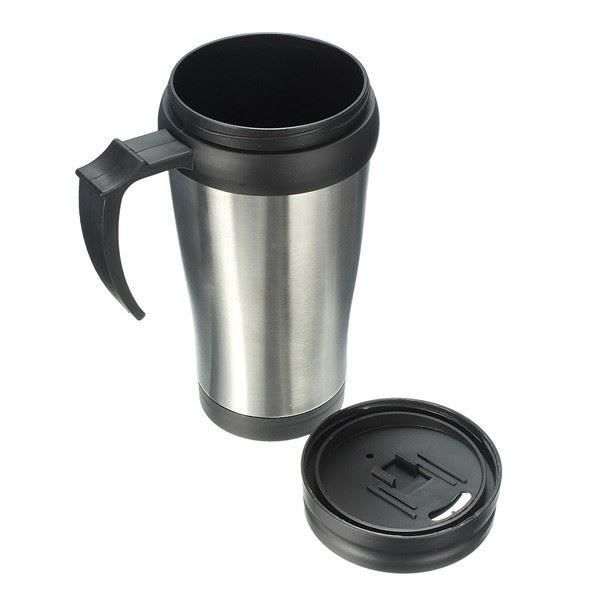 caf thermos inoxydables abs tasse voyage voiture tumbler tea cup achat vente thermostat eau. Black Bedroom Furniture Sets. Home Design Ideas