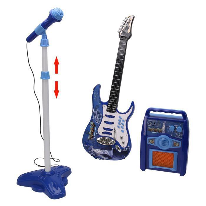 INSTRUMENT DE MUSIQUE KSL441979 Les enfants Guitare électronique MP3 Jou