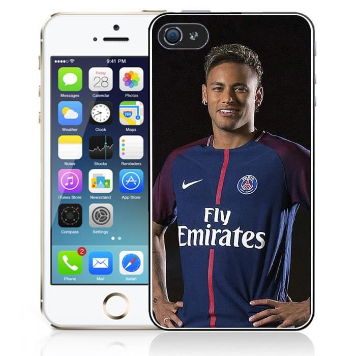 coque iphone 5 5s se neymar psg
