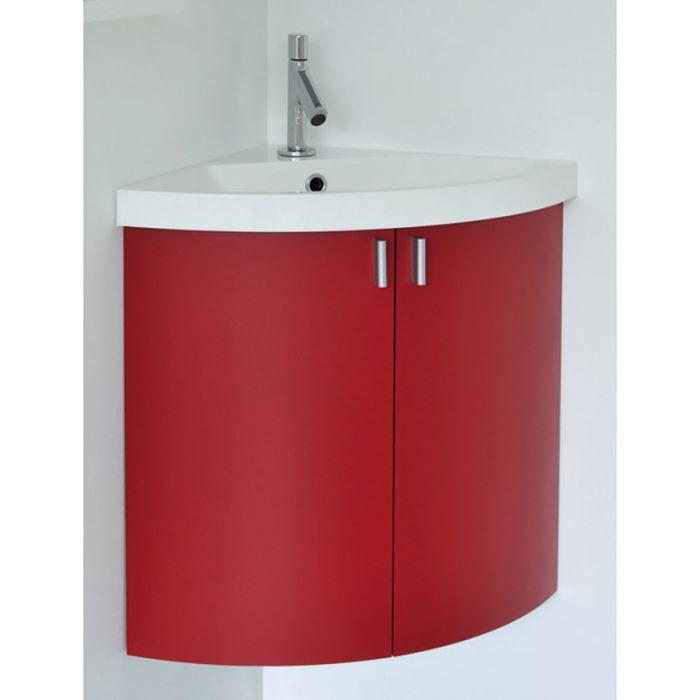 Meuble lave-mains d\'angle, à suspendre, 2 porte… - Achat ...