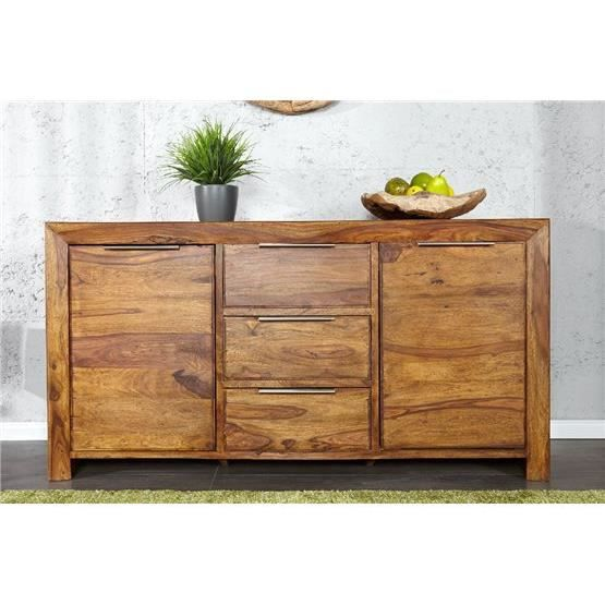 buffet design buffalo bois fonc achat vente buffet. Black Bedroom Furniture Sets. Home Design Ideas