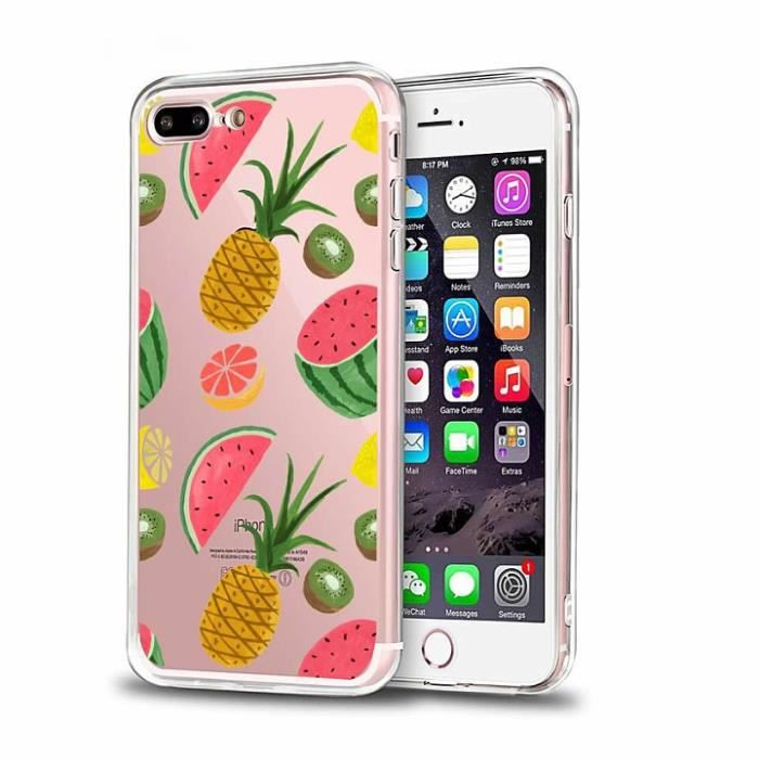 coque iphone 8 plus fruit