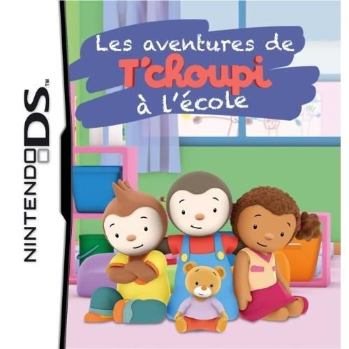 les aventures de t 39 choupi l 39 cole jeu ds achat vente jeu ds dsi les aventures de t. Black Bedroom Furniture Sets. Home Design Ideas