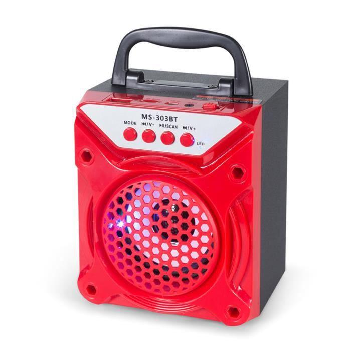 ENCEINTES MS-303BT BT Sans fil Enceinte Haut-parleur FM Radi