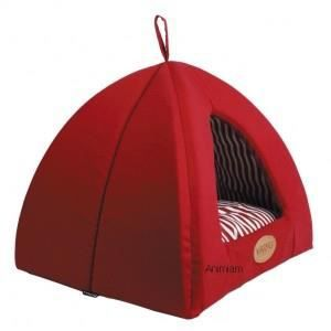 tipi transat pour chien et chat rouge achat vente. Black Bedroom Furniture Sets. Home Design Ideas