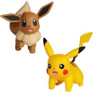FIGURINE - PERSONNAGE POKEMON - Figurines 5 cm Pikachu & Evoli