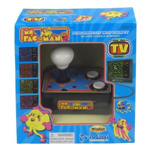 CONSOLE RÉTRO Console avec jeu vidéo intégré Ms Pacman TV Arcade