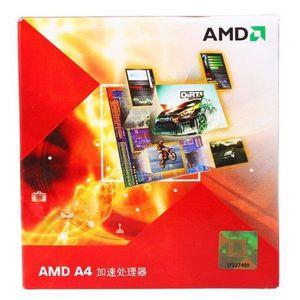 PROCESSEUR AMD A4-3400 CPU pour PC Socket FM1 2,7 GHz 2 coeur
