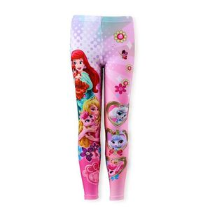 LEGGING LEGGING pantalon collant PRINCESSE DISNEY rose fil