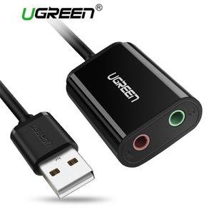 AUTRE PERIPHERIQUE USB  Carte Son USB Externe vers jack 3,5mm 30143