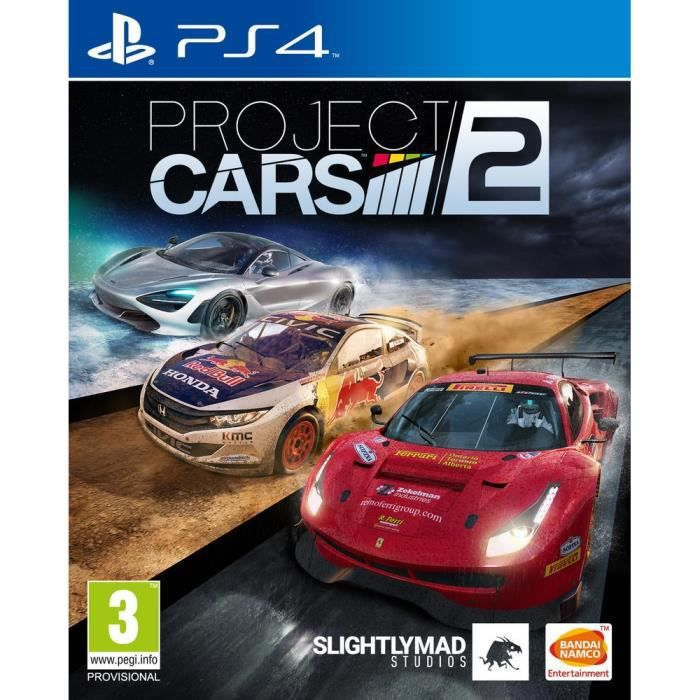 Project Cars 2 Jeu PS4