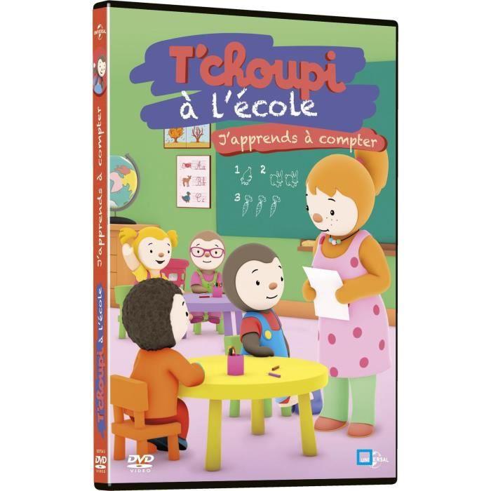 Dvd T Choupi A L Ecole J Apprends A Compter En Dvd Dessin Anime