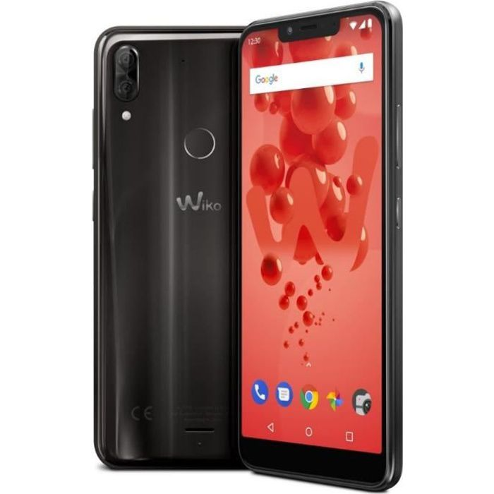 WIKO View2 Plus Anthracite 64 Go