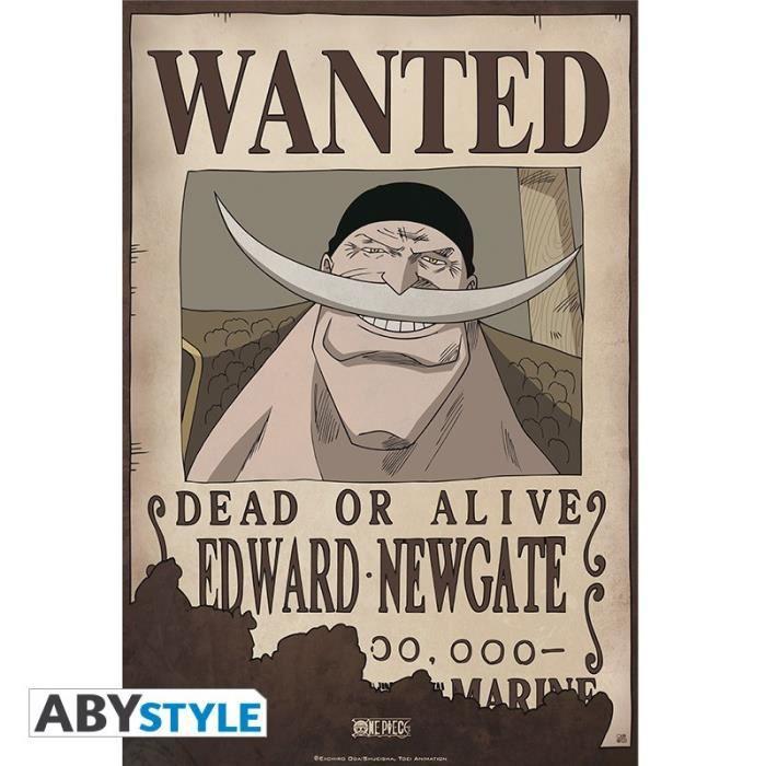 One Piece - Poster Wanted Edward Newgate