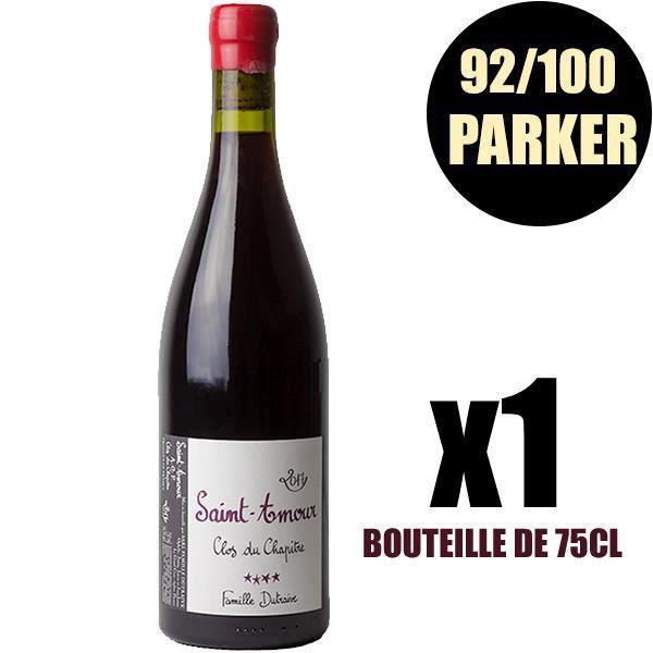X1 Saint Amour -Clos du Chapitre- 2017 75 cl Domaine Dutraive AOC Saint Amour Vin Rouge