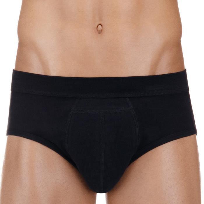Slip homme noir pour fuite urinaires ProtechDry 46/48 Noir