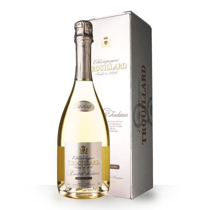 Trouillard Cuvée du Fondateur 2008 Brut 75cl - Etui - Champagne