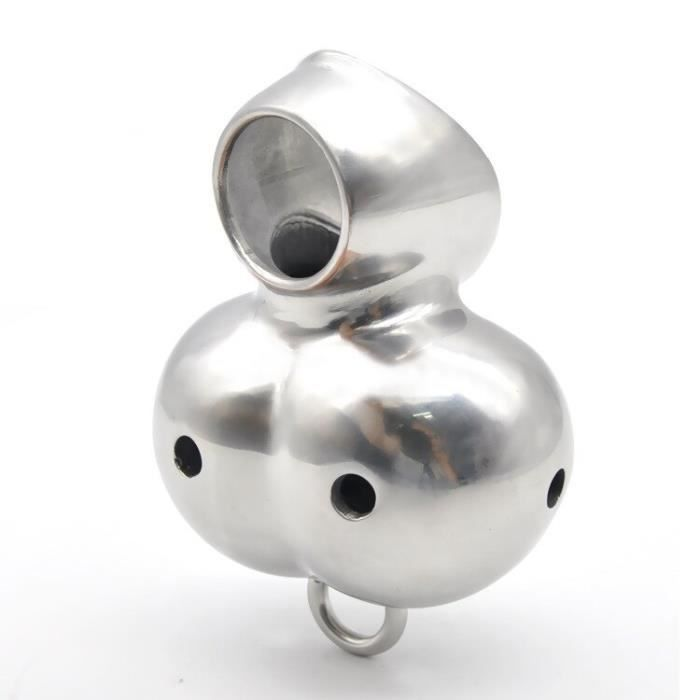 316 acier inoxydable cockring ballcivière sexe lourd scrotum anneau balle brancards Scrotum pendentif métal pénis anneau sex toys