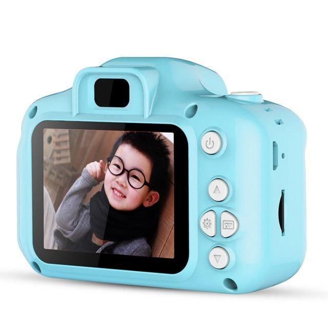 Appareil photo enfant,Mini caméra enfants jouets dessin animé 2 pouces écran HD appareils photo numériques - Type NO TF Card #C