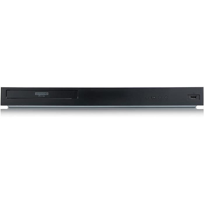 Lecteurs HD DVD LG Lecteur Blu-ray 3D Ultra HD HDR10 Dolby Vision avec Wi-Fi et USB 17161