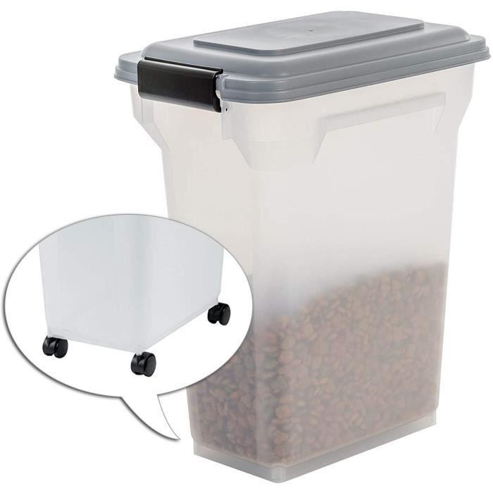 Gamelles et distributeurs pour chats Iris Ohyama Boîte à croquettes - boîte alimentaire hermétique - Air Tight Food Cont 105169