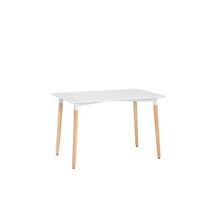 Table blanche 120 x 80 cm FLY
