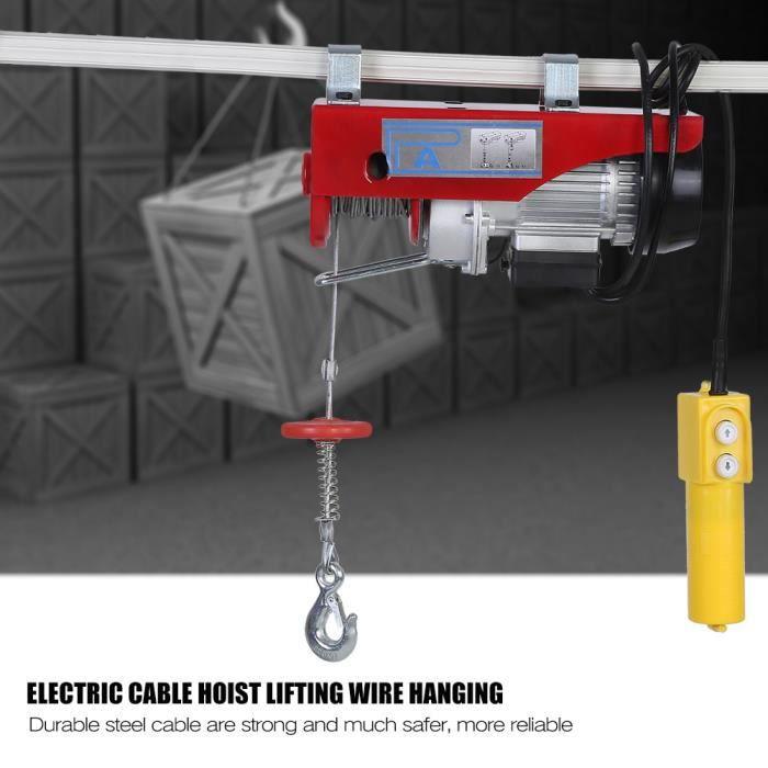 100 - 200kg grue électrique à câble grue de câble de levage suspendu grue -prise UK 220V-VIQ