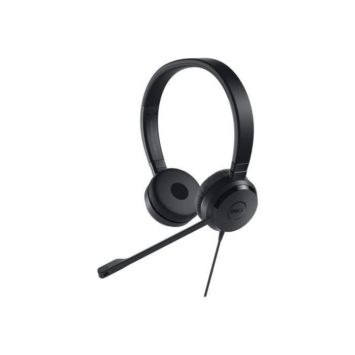 DELL Casque Pro UC350 - Filaire - Design sur tête - Stéréo - Supra-aural - Mini jack