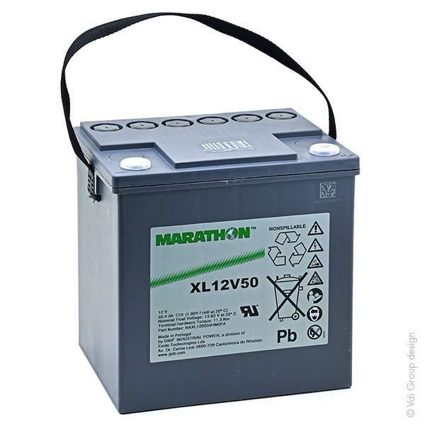 Batterie plomb AGM XL12V50 12V 55.4Ah