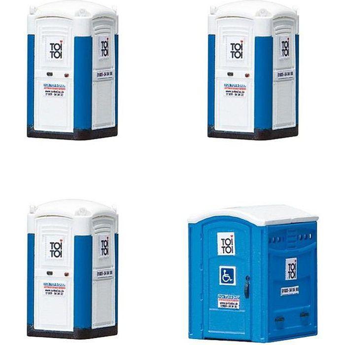 Modélisme - Toilettes transportables