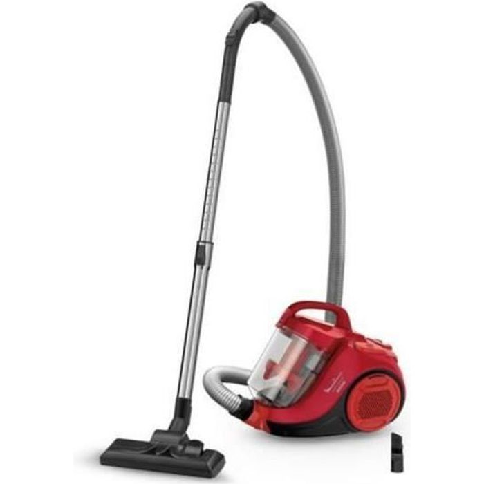 Moulinex Aspirateur Swift Power Cyclonic sans sac 750W Rouge - 3221614006432