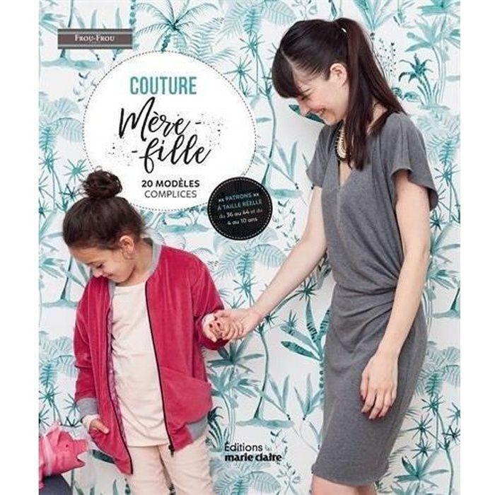 Livre - couture mère-fille 20 modèles complices