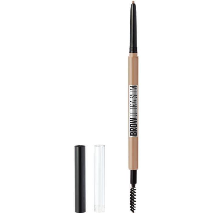 Maybelline New York - Brow Ultra Slim Crayon à Sourcils Rétractable Haute-Précision 00 Light Blond