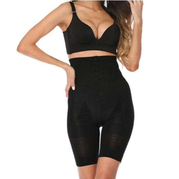 Femmes taille haute Body Shaper Shapewear ventre hanche contrôle Shorts pantalon Slim TOP DE COMPRESSION - T-SHIRT DE COMPRESSION
