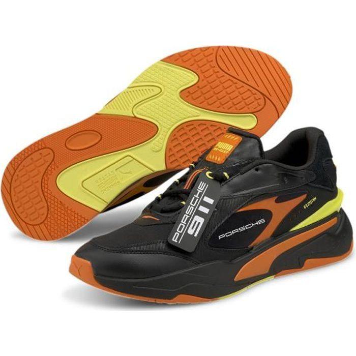 Chaussures de lifestyle Puma PL RS-Fast - noir/jaune/orange - 43