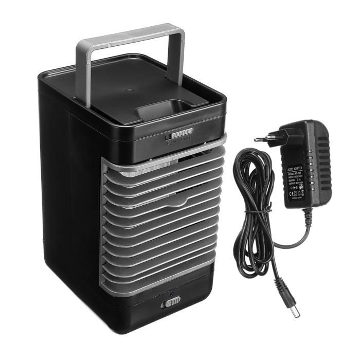 Portable Climatiseur Ventilateur à 2 Vitesses Refroidisseur d'Air Froide Humidificateur Maison Bureau Voyage