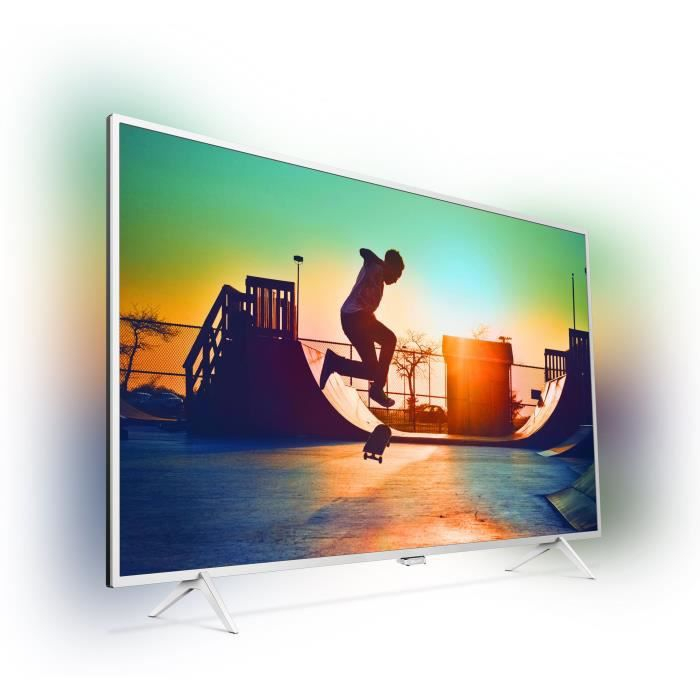 PHILIPS 55PUS6432 TV LED 4K Effet Ambilight Ultra-plat 139cm (55