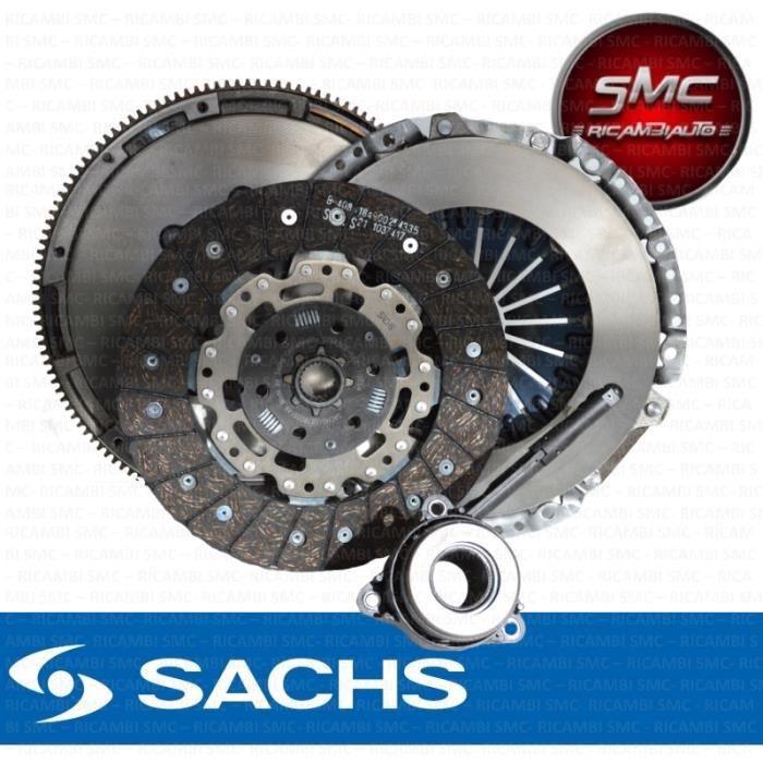 KIT D'EMBRAYAGE + VOLANT MOTEUR SACHS Audi A3 (8P1) 2.0 TDI 140 CH 06/2005-06/08