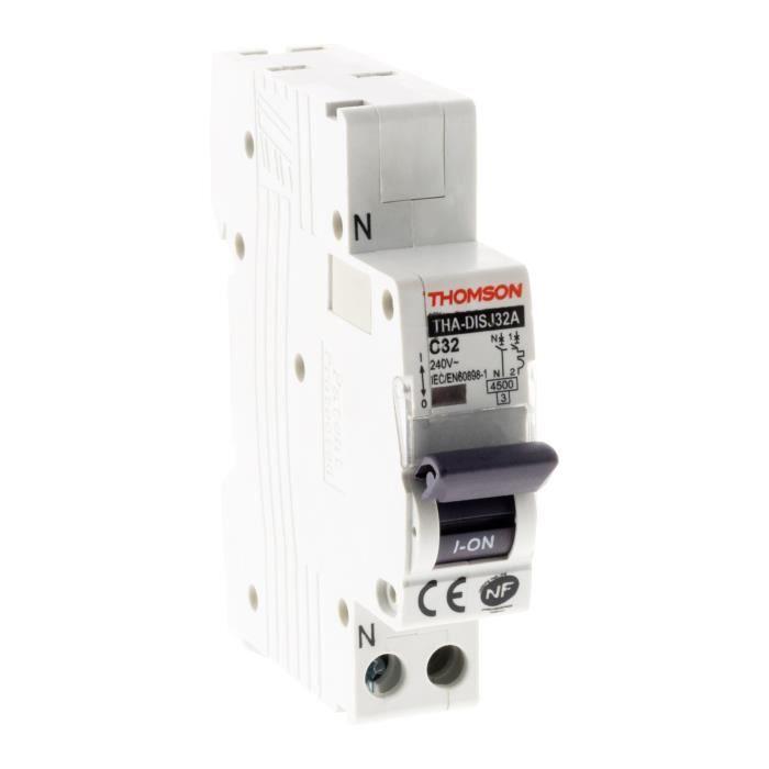 THOMSON Disjoncteur à connexions automatiques PH+N - 32A NF